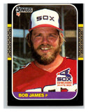 1987 Donruss #493 Bob James White Sox MLB Mint Baseball