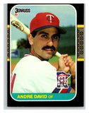 1987 Donruss #519 Andre David Twins MLB Mint Baseball