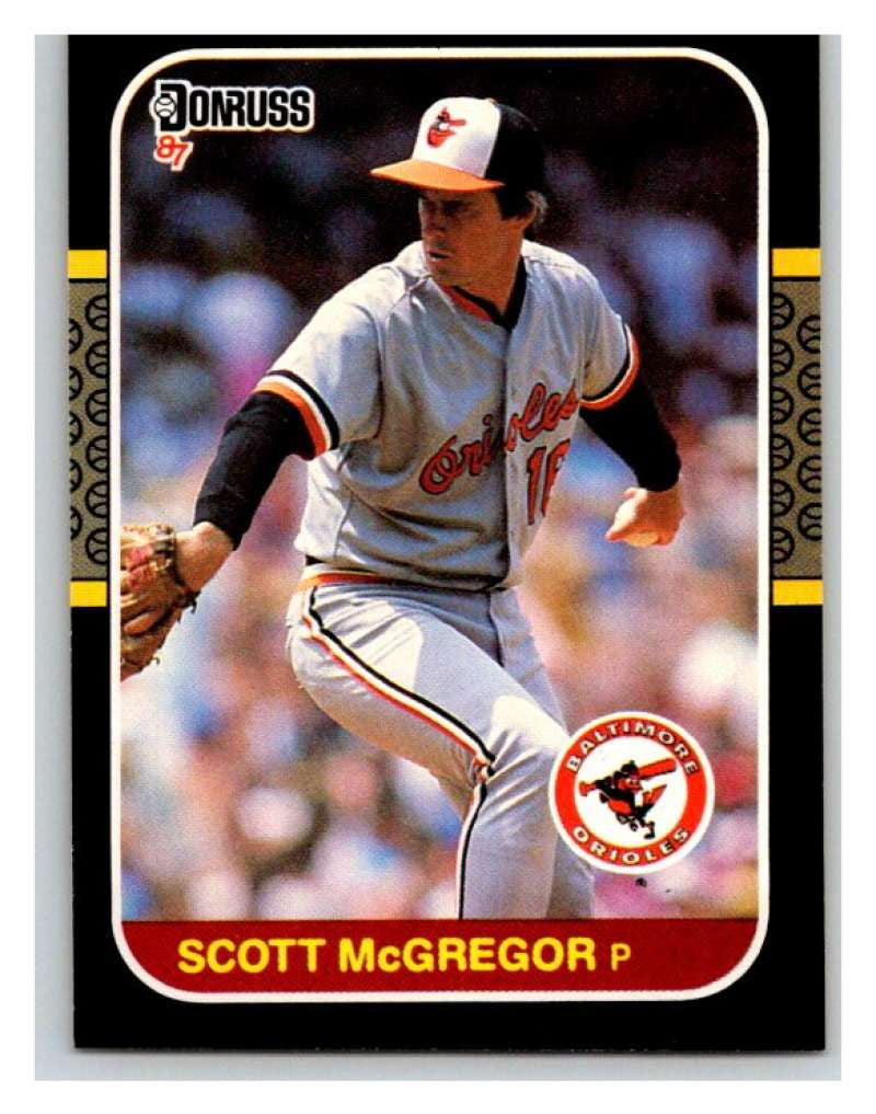 1987 Donruss #520 Scott McGregor Orioles MLB Mint Baseball