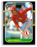 1987 Donruss #540 Bob Forsch Cardinals MLB Mint Baseball
