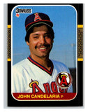 1987 Donruss #551 John Candelaria Angels MLB Mint Baseball