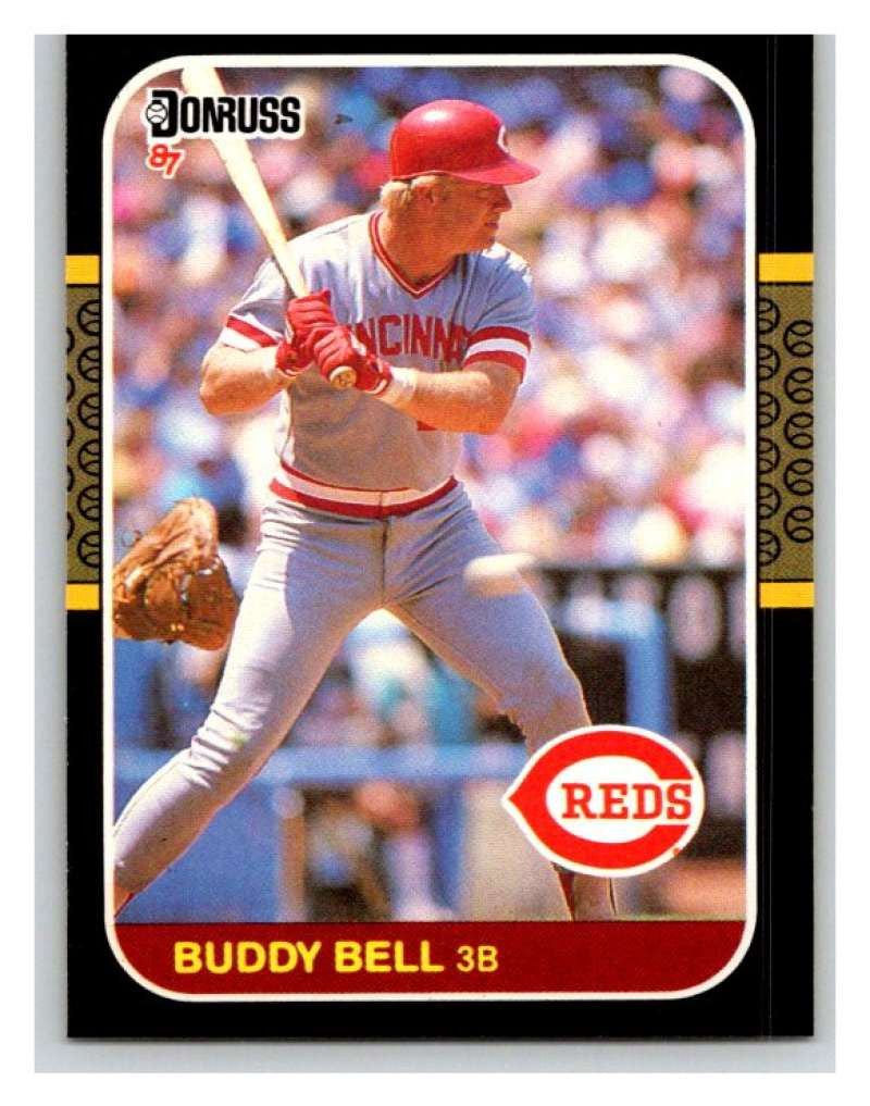 1987 Donruss #556 Buddy Bell Reds MLB Mint Baseball