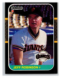 1987 Donruss #559 Jeff D. Robinson Giants MLB Mint Baseball