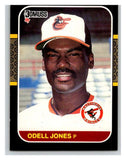 1987 Donruss #582 Odell Jones Orioles MLB Mint Baseball