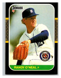 1987 Donruss #584 Randy O'Neal Tigers MLB Mint Baseball
