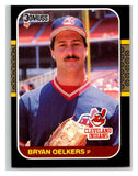 1987 Donruss #596 Bryan Oelkers Indians MLB Mint Baseball