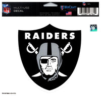 (HCW) Oakland Raiders Multi-Use Coloured Decal Sticker 5