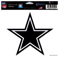 (HCW) Dallas Cowboys Multi-Use Coloured Decal Sticker 5