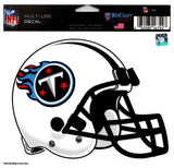 "(HCW) Tennessee Titans Multi-Use Helmet Coloured Decal Sticker 5""x6"" NFL"