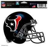 "(HCW) Houston Texans Multi-Use Helmet Coloured Decal Sticker 5""x6"" NFL"