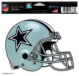 "(HCW) Dallas Cowboys Multi-Use Helmet Coloured Decal Sticker 5""x6"" NFL"