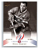 2008-09 Upper Deck Montreal Canadiens Centennial #14 Doug Harvey NM-MT Hockey NHL