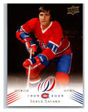 2008-09 Upper Deck Montreal Canadiens Centennial #41 Serge Savard NM-MT Hockey NHL