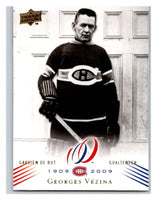 2008-09 Upper Deck Montreal Canadiens Centennial #44 Georges Vezina NM-MT Hockey NHL