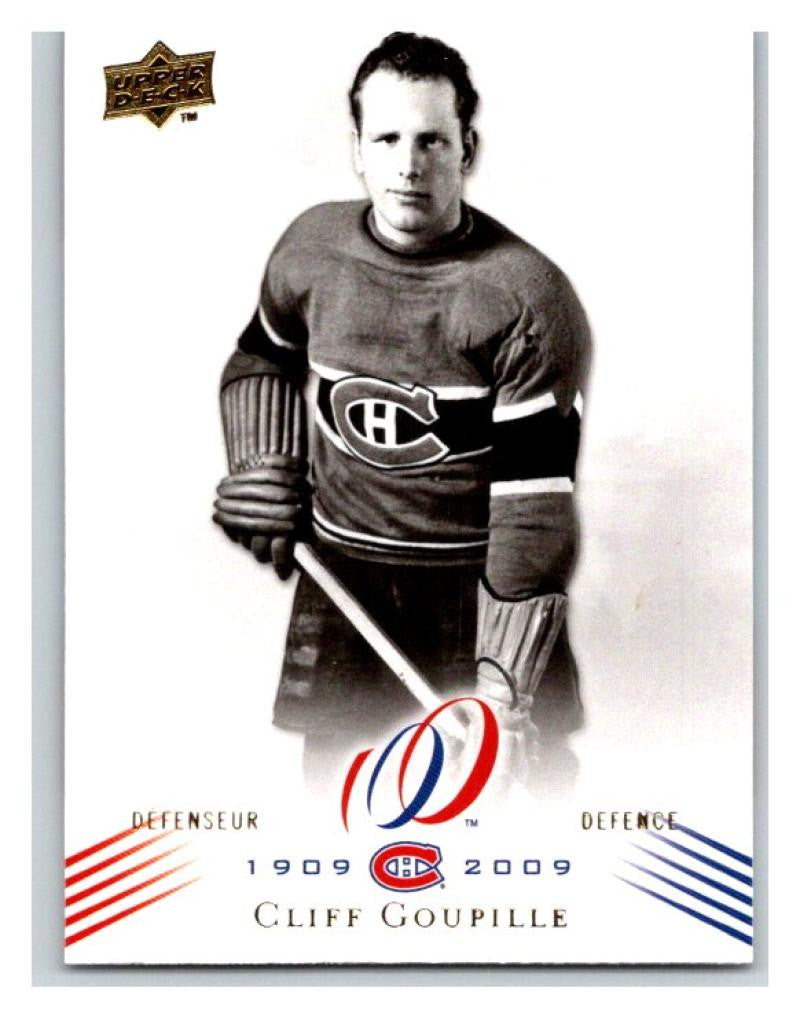 2008-09 Upper Deck Montreal Canadiens Centennial  59 Cliff Goupille NM-MT  Hockey NHL 60fc127bc