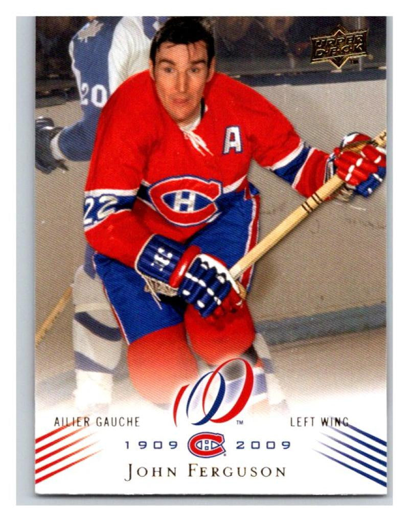 2008-09 Upper Deck Montreal Canadiens Centennial #95 John Ferguson NM-MT Hockey NHL