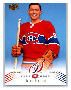 2008-09 Upper Deck Montreal Canadiens Centennial #106 Bill Hicke NM-MT Hockey NHL