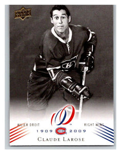2008-09 Upper Deck Montreal Canadiens Centennial #118 Claude Larose NM-MT Hockey NHL