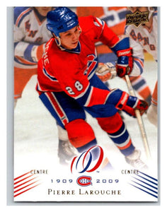 2008-09 Upper Deck Montreal Canadiens Centennial #119 Pierre Larouche NM-MT Hockey NHL