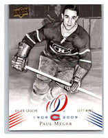 2008-09 Upper Deck Montreal Canadiens Centennial #148 Paul Meger NM-MT Hockey NHL