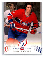 2008-09 Upper Deck Montreal Canadiens Centennial #150 Murray Wilson NM-MT Hockey NHL