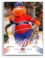 2008-09 Upper Deck Montreal Canadiens Centennial #163 Youppi Mascot NM-MT Hockey NHL