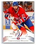 2008-09 Upper Deck Montreal Canadiens Centennial #173 Chris Higgins NM-MT Hockey NHL
