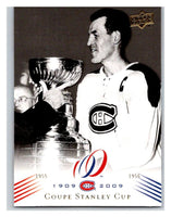 2008-09 Upper Deck Montreal Canadiens Centennial #184 Coupe Stanley Cup NM-MT Hockey NHL