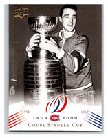 2008-09 Upper Deck Montreal Canadiens Centennial #185 Coupe Stanley Cup NM-MT Hockey