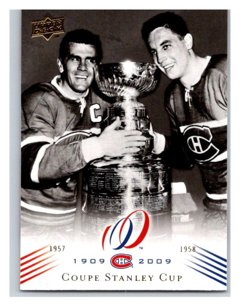 2008-09 Upper Deck Montreal Canadiens Centennial #186 Coupe Stanley Cup NM-MT Hockey