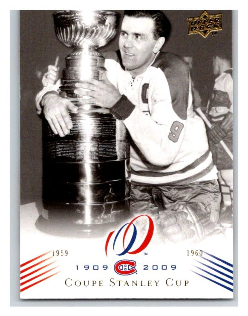 2008-09 Upper Deck Montreal Canadiens Centennial  188 Coupe Stanley Cup NM-MT  Hockey cdb171f12