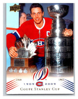 2008-09 Upper Deck Montreal Canadiens Centennial #189 Coupe Stanley Cup NM-MT Hockey NHL