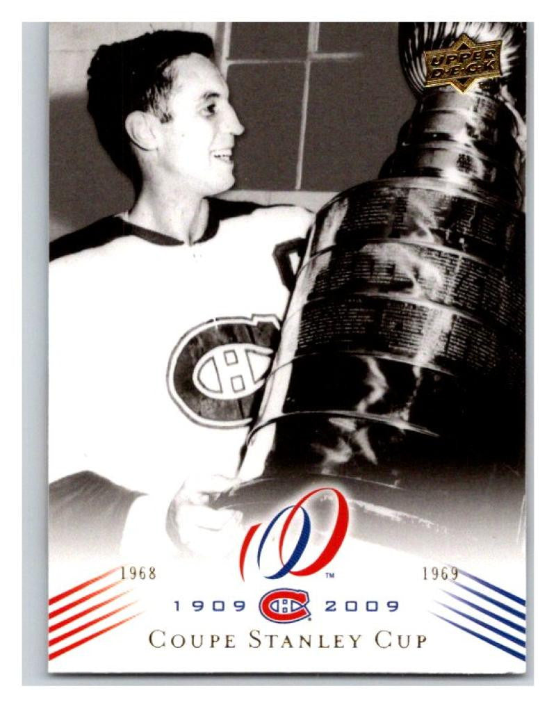 2008-09 Upper Deck Montreal Canadiens Centennial  192 Coupe Stanley Cup NM-MT  Hockey NHL dbb3a43a9
