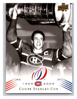 2008-09 Upper Deck Montreal Canadiens Centennial #193 Coupe Stanley Cup  Hockey NHL