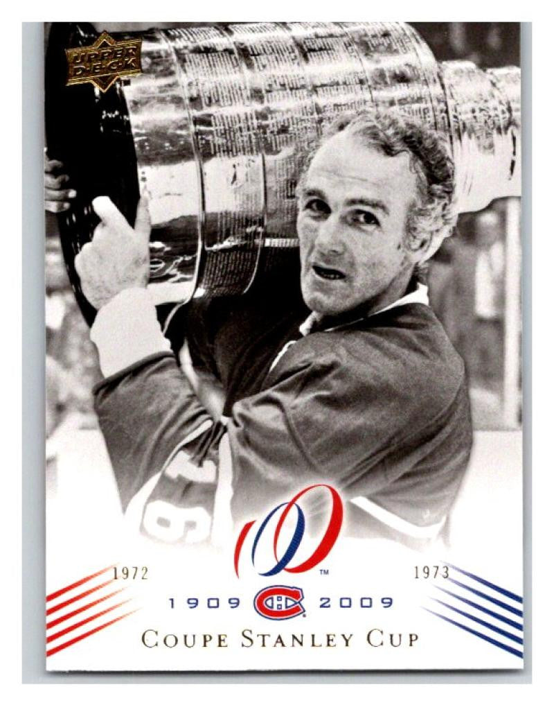 2008-09 Upper Deck Montreal Canadiens Centennial  194 Coupe Stanley Cup NM-MT  Hockey 141d50847