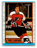 (HCW) 1989-90 O-Pee-Chee #3 Terry Carkner RC Rookie Flyers NHL Hockey