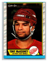 (HCW) 1989-90 O-Pee-Chee #4 Tony McKegney Red Wings NHL Hockey