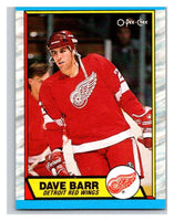 (HCW) 1989-90 O-Pee-Chee #13 Dave Barr Red Wings NHL Hockey