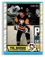 (HCW) 1989-90 O-Pee-Chee #19 Phil Bourque RC Rookie Bruins NHL Hockey