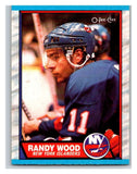 (HCW) 1989-90 O-Pee-Chee #35 Randy Wood NY Islanders NHL Hockey