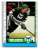 (HCW) 1989-90 O-Pee-Chee #46 Dave Babych Whalers NHL Hockey