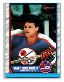 (HCW) 1989-90 O-Pee-Chee #63 Randy Cunneyworth Winn Jets NHL Hockey