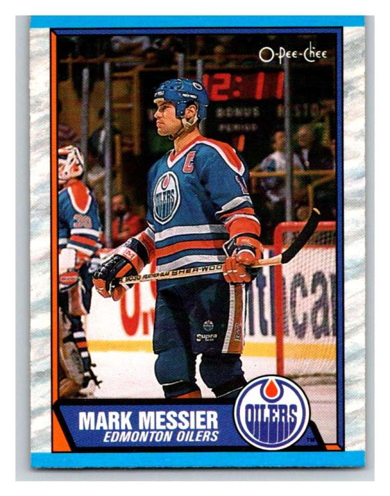 (HCW) 1989-90 O-Pee-Chee #65 Mark Messier Oilers NHL Hockey