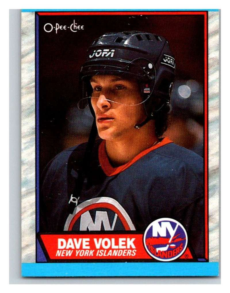 (HCW) 1989-90 O-Pee-Chee #85 David Volek RC Rookie NY Islanders NHL Hockey