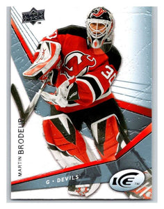 (HCW) 2008-09 Upper Deck Ice #52 Martin Brodeur NJ Devils NHL Mint