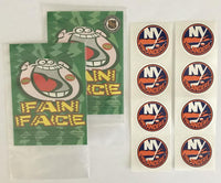 (HCW) 2 Packs of New York Islanders 1.25