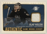 2002-03 Pacific Quest for the Cup Jerseys Olaf Kolzig NM-MT Hockey NHL MEM 02992