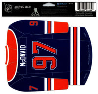 (HCW) Connor McDavid Multi-Use Coloured Decal Sticker 5