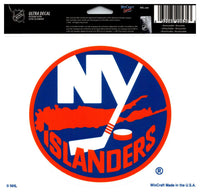 (HCW) New York Islanders Multi-Use Coloured Decal Sticker 5