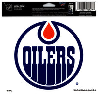 (HCW) Edmonton Oilers Multi-Use Coloured Decal Sticker 5